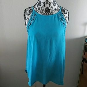 Teal Colored Blouse